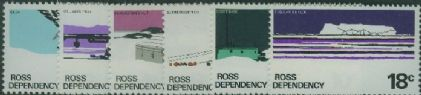 ROSS SG9-14 1972 Definitive set of 6